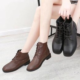 Cheap silk satin online shopping - Cheap Women Martin Boots Roman Boots Girl Shoes Real Leather Leisure Martin Sneakers Fashion Designers Gril Work Safety