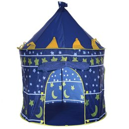 $enCountryForm.capitalKeyWord NZ - Outdoor Indoor Children Folding Camping Cloth Mongolian Yurt Tent Portable Kids Play Toy Cubby Hut Tent House Castle Bookstore