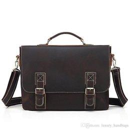 $enCountryForm.capitalKeyWord Australia - Men S Briefcase Cowhide Leather Backpack More Pocket Top Quality Purse Designer Handbags Portable Genuine Leather Travel Bags