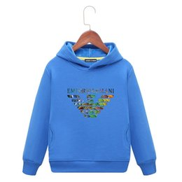 f90a8f5bc Kids Brand Hoodies 2019 Spring New Pattern Korean Edition Children Foreign Sleeve  Head Sweater Fashion Girl Loose Coat baby clothing