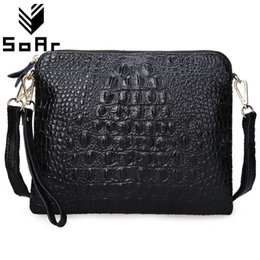 $enCountryForm.capitalKeyWord NZ - Women Bag Genuine Leather Cowhide Women Messenger Bags Crossbody Shoulder Bag Ladies Clutch Crocodile Pattern Small Handbag Y190619