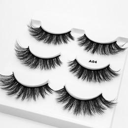 $enCountryForm.capitalKeyWord UK - 3D False Eyelashes Handmade Beauty Thick Long Soft Makeup Lashes Fake 3D Mink Sexy Extension Eye Lashes Eyelash 3pairs set