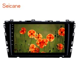 Vw Stereos Android Australia - Quad-core 9 inch Android 9.0 car Stereo GPS Navigation for 2015 2016 VW Volkswagen Lamando with Bluetooth USB support 4G SWC car DVD