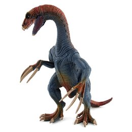Figures Australia - Hot Jurassic Tyrannosaurus Pterosaur Carnotaurus Dinosaurs Models Plastic Therizinosaurus Animal Action Figures Collection Toys