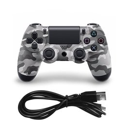 pc dual joystick NZ - Wireless Gamepad Bluetooth Joystick For PS4 Controller Wireless Switch for 4 Console Dual TV PC Video Game