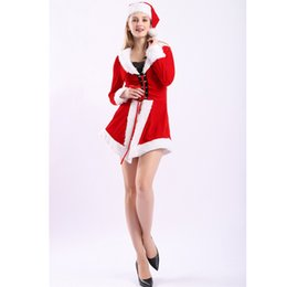 50b2d69c34b Accessories Cosplay Costumes 2017 Women Christmas Clothing Sexy Miss Santa  Dress Christmas Costumes For Adults Roly Game Playing Bodycon .