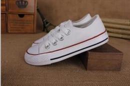 $enCountryForm.capitalKeyWord Australia - New brand kids canvas shoes fashion high - low shoes boys Flat girls sports canvas Walking Shoes lace-up
