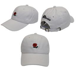 $enCountryForm.capitalKeyWord Australia - 2018 New Fashion Snapback Caps White The Hundreds Rose StrapBack Baseball Cap Hat For Men Women Hiphop Hat Peaked Cap Free Shipping