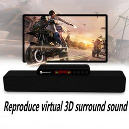 Factory Direct Audio Australia - Hot new high-end wireless Bluetooth speaker   strip card audio 5W dual speakers subwoofer computer speakers factory direct sales