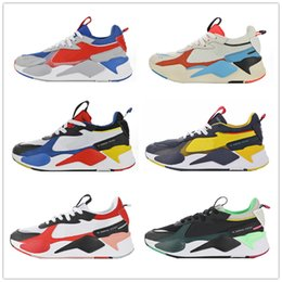 Wholesale New Arrival RS X Toys Release Running Shoes Men Women Top Quality RS X Reinvention Sneaker Shoes Trainers Sneakers Boys Size