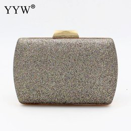 brown clutch bags NZ - YYW 2019 new Evening Party Clutch Bag sequin sac main femme fashion luxury crossbody bags for women night glitter purse clutches