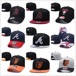 AtlAntA brAve hAts online shopping - New Arizona Diamondbacks Baseball Hat Atlanta Braves Era Baseball Snapback Baltimore Orioles Cap Casquette