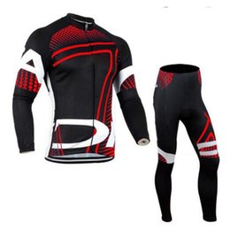 $enCountryForm.capitalKeyWord Australia - Can be customized LOGO newest Long sleeve bicycle suit Cycling Jersey Men Cycling Set Racing Bicycle Clothing Suit Sport wears #1971422