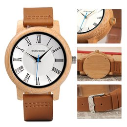 8c029f45070b gifts for watch lovers 2019 - BOBO BIRD Bamboo Ladies Quartz Watches Men  Wood Watch for