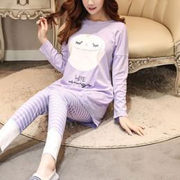 $enCountryForm.capitalKeyWord Australia - Women Pajamas Sets Long sleeve suit Animal Cartoon Large Size Girls Sleepwear Women's Pajamas Suit Home Clothes Pajama Female