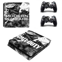 Console sets online shopping - Fanstore Skins Sticker Full Set Vinyl Decal Skin Wrap for Playstation PS4 Slim Console and Remote Controll Cool Design
