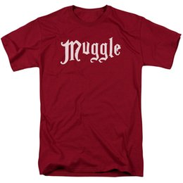 7c8f6cac Harry Potter T Shirts UK - Harry Potter Muggle Licensed Adult T Shirt Men  Women Unisex