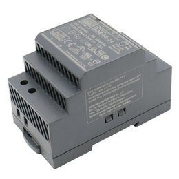 din rail switches UK - MW Switching Power Supply HDR-60-24 60W 21.6-29V 0-2.5A DIN-Rail UL CE Listed