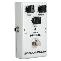 Echo Pedals Australia - NUX AD-3 Guitar Effects Pedal Analog Delay Effect Low Noise BBD Delay Circuit 20-300ms Delay time Warm and Smooth relic guitar