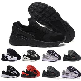 $enCountryForm.capitalKeyWord UK - 2019 Huarache 1.0 4.0 Running Shoes Ultra Stripe Balck White Oreo Sport Shoes Huaraches For Women Men Designer Sneakers Trainers 36-45