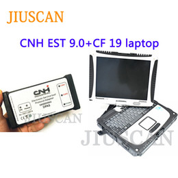 electronics tools kit Australia - JIUSCAN CF19 laptop for CNH Est DPA5 kit diagnostic tool with CNH est 9.0 Electronic Service Tool