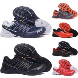 S lab online shopping - Designer Speed Cross S Lab Men Outdoor Running Shoes mens SpeedCross Runner Triple Black Green Red Blue Trainer Mens Sport Sneaker Shoe