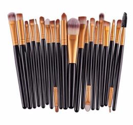 $enCountryForm.capitalKeyWord NZ - Lady Make Up Brushes Set 20pcs Foundation Eyebrow Brush Kit Eyeliner Powder Makeup Tool Eyelash Lip Cosmetic