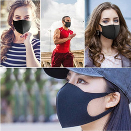 Discount high quality silicone halloween masks Clearance high quality Coslony Unisex Sponge Dustproof PM2.5 Pollution Half Face Mouth Mask with Breath Wide Straps Wash