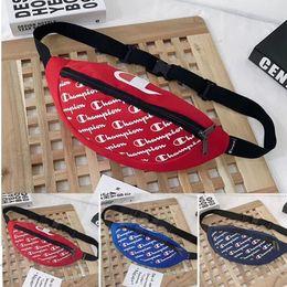 $enCountryForm.capitalKeyWord NZ - Luxury Designer Fannypack Women Men Crossbody Chest Bag Full Champion Letters Waist Bags Messenger Shoulder Bag Beach Sports Totes C7905