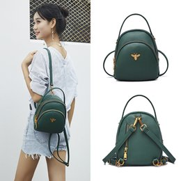$enCountryForm.capitalKeyWord Australia - Mini Small Backpacks For Teenage Girls Women Backpack Ladies Shoulder Bags Cute Pu Leather Small Women Backpack Bee Sac A Dos MX190708