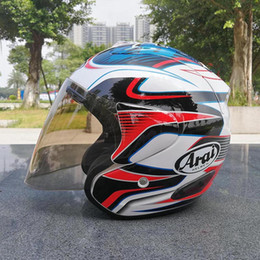 Ara -i SZ RAM 3 BLUE FLOWER Open Face Off Road Racing Motocross Motorcycle Helmet(NOT-ORIGINAL) on Sale