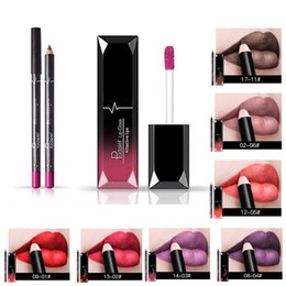 Lip Gloss Lipstick Cosmetic Makeup Australia - Glitter Lip Gloss Long Lasting Moisturizer Cosmetics Nutritious Shimmer Liquid Lipstick Beauty Lips Makeup with Lip Liner