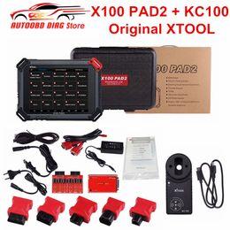 Key Programmer Auto Diagnostic Australia - XTOOL X100 PAD2 PRO With KC100 OBD2 Auto Key Programmer X-100 PAD 2 Odometer Correction WiFi Bluetooth Diagnostic Tool DHL Free