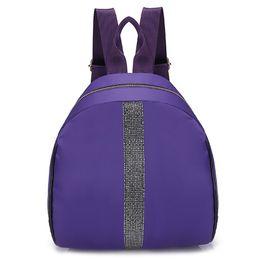 $enCountryForm.capitalKeyWord Australia - Personality Backpacks Women New Trendy Hit Color Travel Rucksacks Fashion Student Shoulder School Bags Nylon Backpack