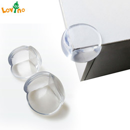 silicone table cover 2019 - 5 10 12Pcs Child Baby Safety Silicone Protector Table Corner Edge Protection Cover Children Anticollision Edge & Guards