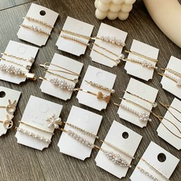 ponies pearls Canada - Pearl Snap Clips Barrette Hairclip Hairpins Pearl White Pony Clip Mollette Colorate Pearl Snap good quality best sales viiJZ