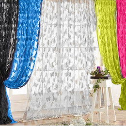 $enCountryForm.capitalKeyWord Australia - 200x100cm Window Curtains Butterfly Tassel String Door Curtains for Living Room Bedroom Divider Curtain Home Decoration