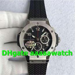 V6 Men Watch Australia - V6 New Luxury Watch 301.SX.130.RX Watch Stainless Steel Case & Bezel Black Rubber Strap 4104 7750 automatic chronograph movement Men Watch