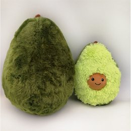 Practical 50cm Funny Simulation Avocado Plush Pillow Soft Cartoon Fruit Avocado Stuffed Doll Sofa Chair Cushion Nap Pillow Kids Best Gifts Special Buy Toys & Hobbies
