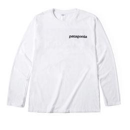 $enCountryForm.capitalKeyWord Canada - Patagonia Mens Designer T Shirts Hip Hop Short Sleeve High Quality Retro Men Women Pattern Print Tees Size S-2XL