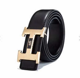 genuine leather woman cummerbund UK - 2017High quality brand designer belts women Jeans belts Cummerbund belts For men Metal Buckle with