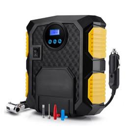 Venta al por mayor de Bomba de compresor de aire portátil de 12 voltios DC para infladores de neumáticos de automóviles Compresor de aire de automóviles de 150 PSI para motocicletas de automóviles