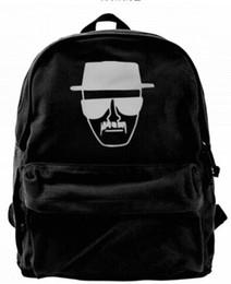 Broken Bad Australia - Breaking Chemistry Bad Science Fashion Canvas designer backpack For Men & Women Teens College Travel Daypack Leisure bag Black