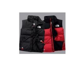 Опт Мужские зимние пальто на открытом воздухе Weste north Down жилет Gilet легкие куртки мужские Chaleco водоотталкивающие фугу лицо жилеты бесплатная доставка