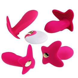 $enCountryForm.capitalKeyWord UK - Silicone Wireless Remote Control Sex Vibrator G Spot Stimulation Usb Charged Invisible Vibrating Panties Vibrador Female Sex Toy Y19061202