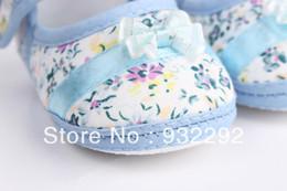 $enCountryForm.capitalKeyWord Australia - Girls flowers bow baby toddler shoes autumn Soft Sole Footwear First Walkers For Baby Girls11cm 12cm 13cm Free &