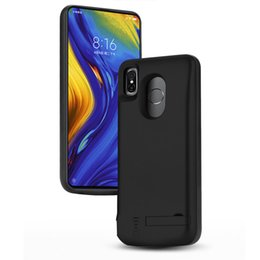 $enCountryForm.capitalKeyWord NZ - For Xiaomi Mi Mix 3 10000mAh Universal Battery Case Charging Cover Portable External Large Capacity Backup Skin Power Bank