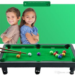 puzzle interactive Australia - Children's billiards toys puzzle parent-child interactive table tennis toys full scale reduction toys