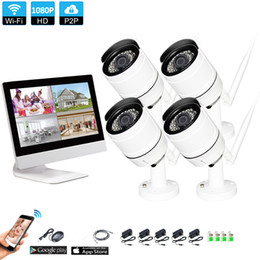 $enCountryForm.capitalKeyWord UK - Wireless Surveillance System Network 10.1 Inch LCD Monitor NVR Recorder Wifi Kit 4CH 1080P HD Video Inputs Security Camera with 1tb hdd