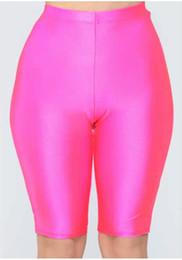 Skinny Sports Australia - Womens Sports Short Pants 2019 New Arrival Women Summer Yoga Shorts Fashion Tops Skinny Womens Shorts Pants Size S-XL